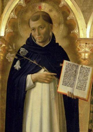 Dominicus Guzman door Fra Angelico (Publiek Domein - wiki)
