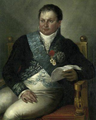 Portret van Alexander Gogel uit ca.1812 door Matthijs Ignatius van Bree (Publiek Domein - wiki)