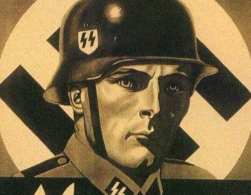 Detail van een rekruteringsaffiche voor het Vlaams Legioen (Publiek Domein - wiki)