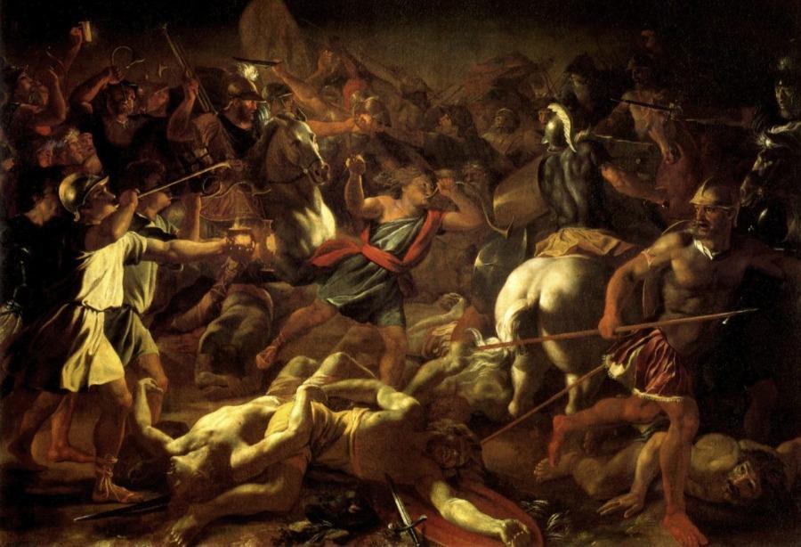 De Gideonsbende - Nicolas Poussin (Publiek Domein - wiki)