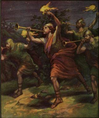 Gideonsbende volgens Adolf Hult (Publiek Domein - wiki)