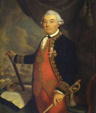 Postuum portret van Johan Zoutman - Cornelis van Cuylenburg, 1801 (Publiek Domein - wiki)