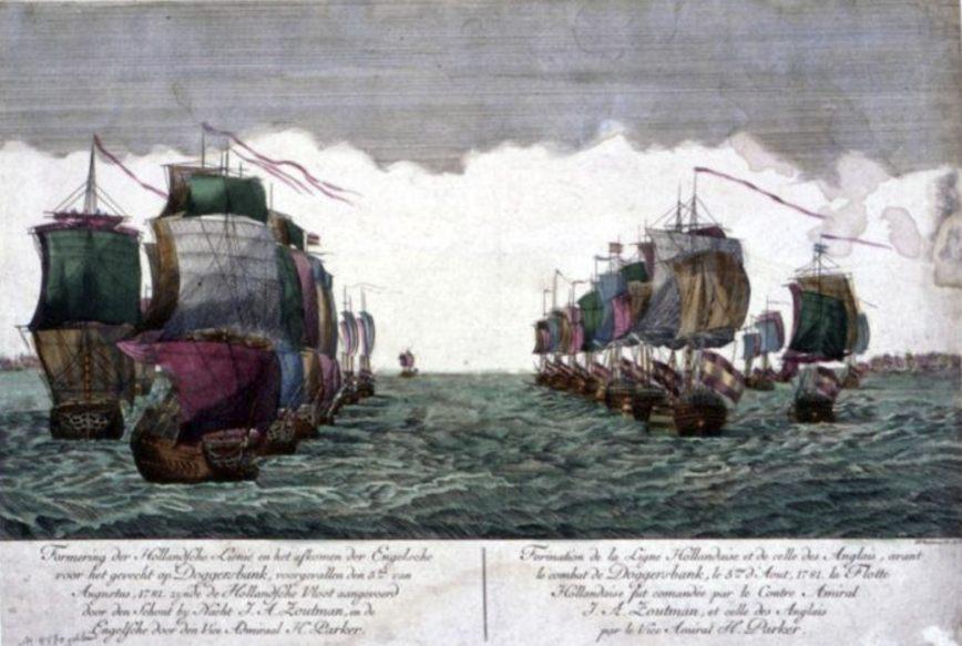 De schepen in formatie - Joseph Marianus, Augsburg (Publiek Domein - wiki)