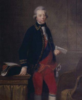 Stadhouder Willem V, omstreeks 1790