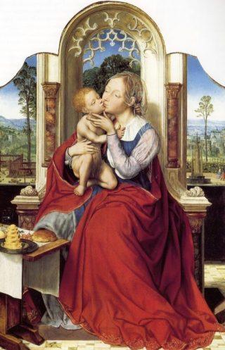 De maagd Maria (1525) - Quinten Massijs