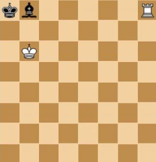 Voorbeeld van een patstelling in het schaken (wiki)