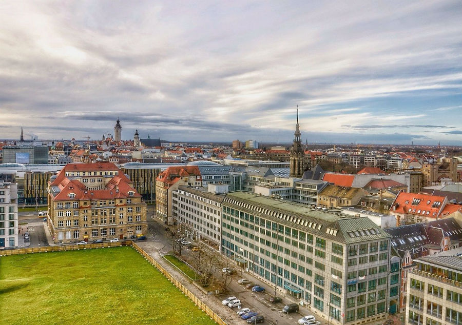 Zicht op Leipzig (CC0 - Pixabay - ThomasWolter)