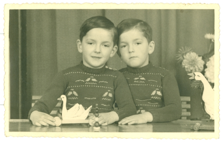 Op pad met Hein en Toon, tweeling van de collaboratie
