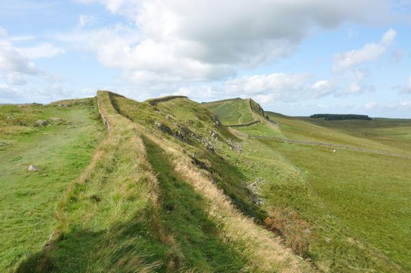 De Muur van Hadrianus: voorbeeld van een clausura.