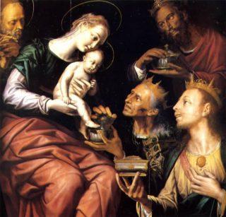 Aanbidding der Wijzen - Pieter de Kempeneer