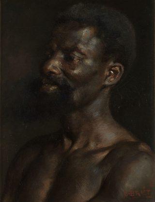 Portret van een man - Arthur Briët (via Noord-Veluws Museum)