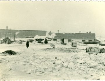 Het Goelagkamp Vorkuta in de winter. Bron: cc/Kauno IX forto muziejus - Europeana