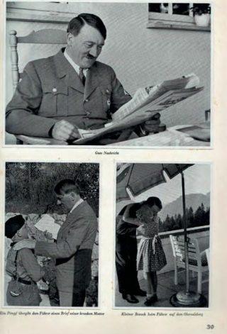 Met het album Adolf Hitler, aus dem Leben des Führers kon de jeugd met fraaie foto's kennisnemen van Duitslands nieuwe leider.