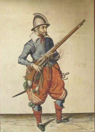 Spaanse soldaat uit de Tachtigjarige Oorlog
