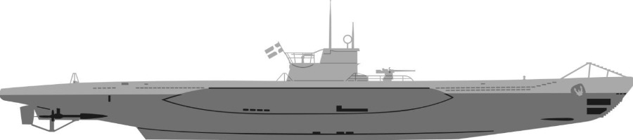 Onderzeeboot U-1206 (Publiek Domein - wiki)