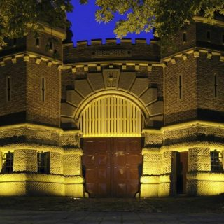 Poort van de Van Mesdagkliniek  (CC BY-SA 3.0 - Wutsje - wiki)