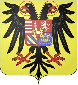 Wapen van Leopold II als Rooms-Duits keizer