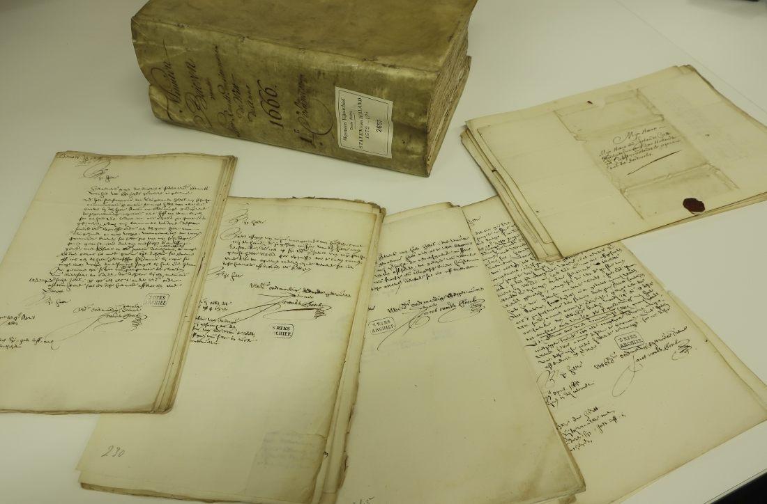 Correspondentie van Johan de Witt (Nationaal Archief, 3.01.17)
