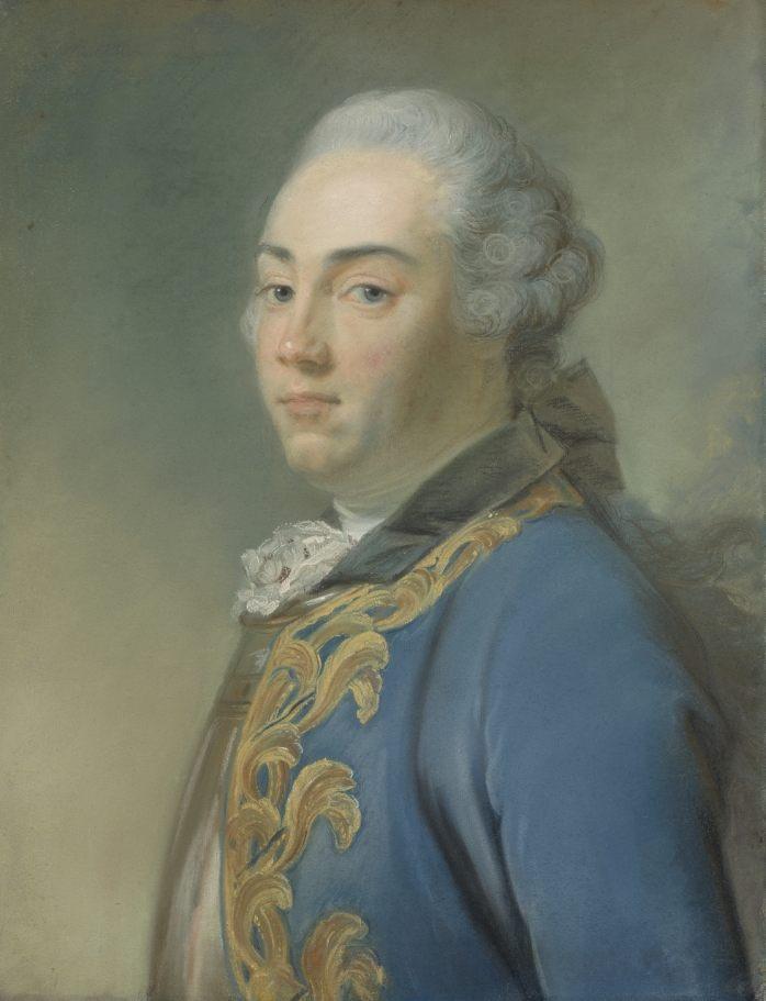 Portret van Jacob van Kretschmar van Perronneau (Mauritshuis)