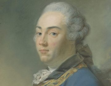 Detail van het portret