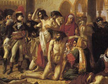 Bonaparte visitant les pestiférés de Jaffa - Antoine-Jean Gros, 1804