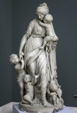 Liefdadigheid - Gilles-Lambert Godecharle (Collectie Koninklijke Musea voor Schone Kunsten, Brussel)