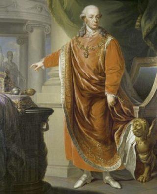 Keizer Leopold II - Johann Daniel Donat (Publiek Domein - wiki)