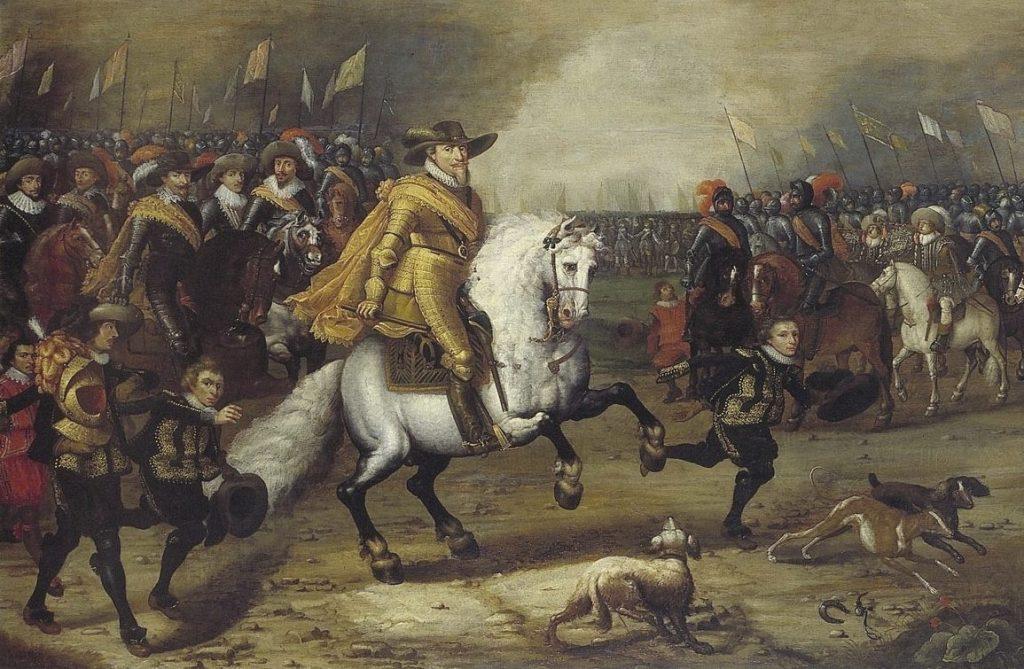 Maurits tijdens de Slag bij Nieuwpoort, 1600 - Henri Ambrosius Pacx (Publiek Domein - wiki)