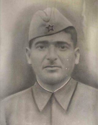 Pido Tsjoliasjvili (Foto: Stichting Sovjet Ereveld)