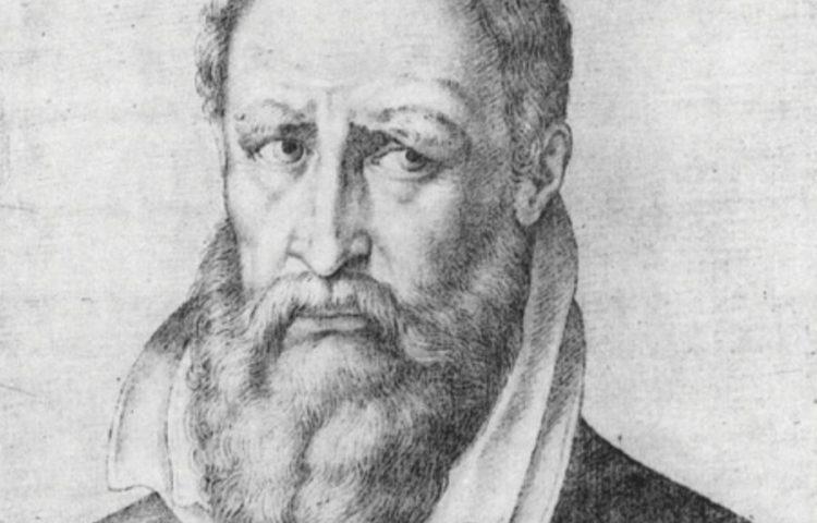 Pieter de Kempeneer door Francisco Pacheco (Publiek Domein - wiki)