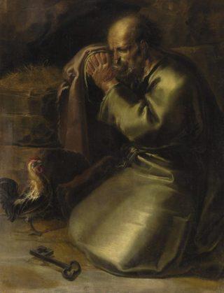 Verloochening van Petrus - Jan van de Venne (Publiek Domein - wiki)
