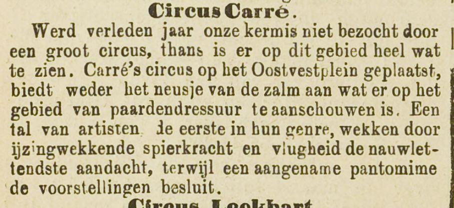 Advertentie in de Rotterdamsche courant, 16-08-1889 (Delpher)