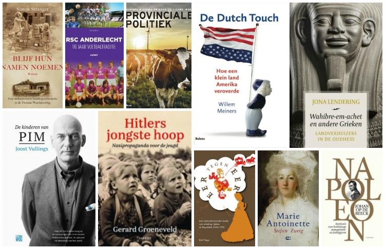 Nieuwe geschiedenisboeken (week 13) - 2019