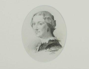 De aangekochte tekening van Lawrence Alma Tadema (Fries Museum)