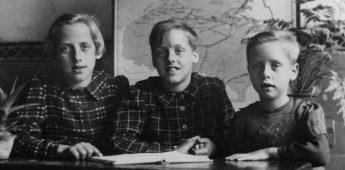 Roos Derks (10) bleef tijdens de oorlog alleen achter met haar zusjes