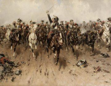 Ten aanval - Hermanus Willem Koekoek (Publiek Domein - wiki)