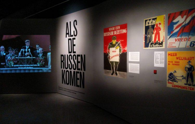 Als de Russen komen - Tentoonstelling in het Nationaal Militair Museum in Soesterberg (Foto: Kevin Prenger)