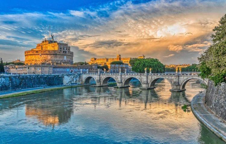 Zicht op de Engelenburcht in Rome (cc0 - Pxabay - Mike_68)