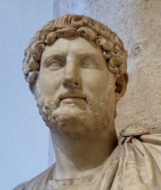 Buste van keizer Hadrianus (Publiek Domein - wiki)
