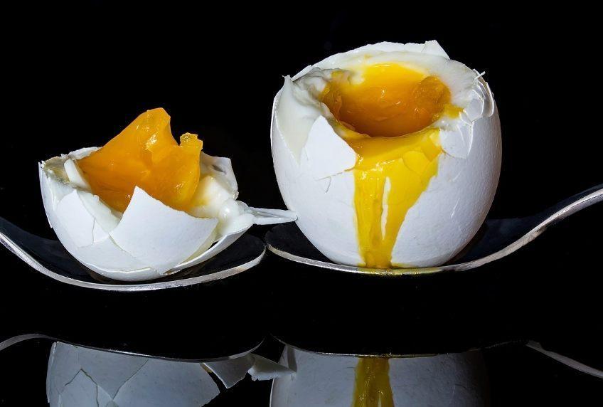 Dat is het hele eiereneten - Twee eieren (CC0 - Pixabay - Myriams-Fotos)
