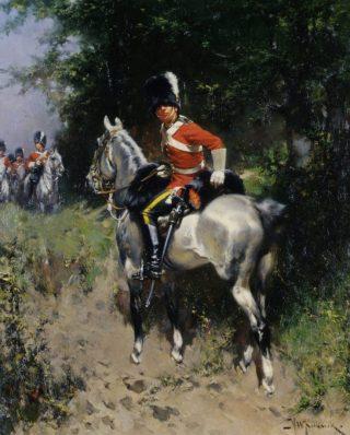 Huzaren - Hermanus Willem Koekkoek (Publiek Domein - wiki)