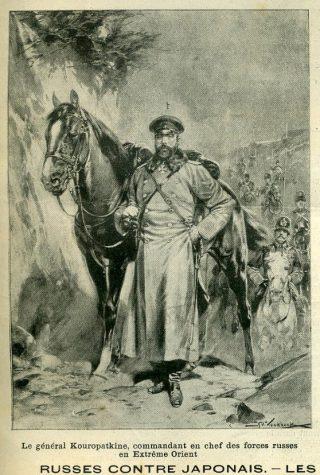 Generaal Kouropatkine - Hermanus Willem Koekoek, 1904 - Le Patriote Illustré (Publiek Domein - wiki)
