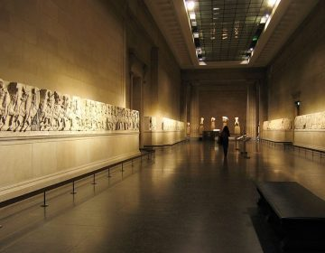 Elgin Marbles in het British Museum (CC BY-SA 2.0 - wiki)