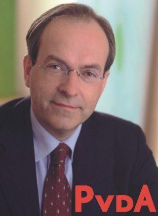 Ad Melkert op een verkiezingsposter uit 2002 (CC BY 2.0 - Partij van de Arbeid)