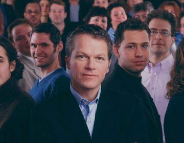 Wouter Bos op de PvdA verkiezingsposter van 2003 (CC BY 2.0 - PvdA - wiki)