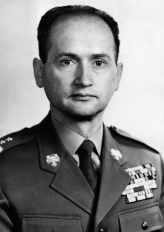 Wojciech Jaruzelski in 1968 (Publiek Domein - wiki)
