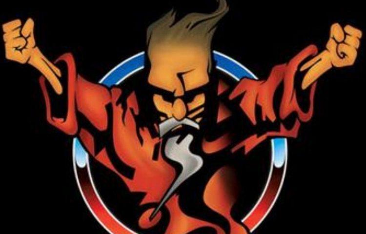 Logo van Thunderdome, een bekend feest dat populair was in de gabbercultuur (wiki)