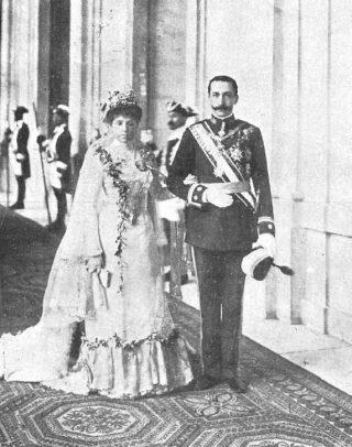 María de las Mercedes en Karel Maria van Bourbon-Sicilië, gefotografeerd door Christian Franzen (Publiek Domein - wiki)