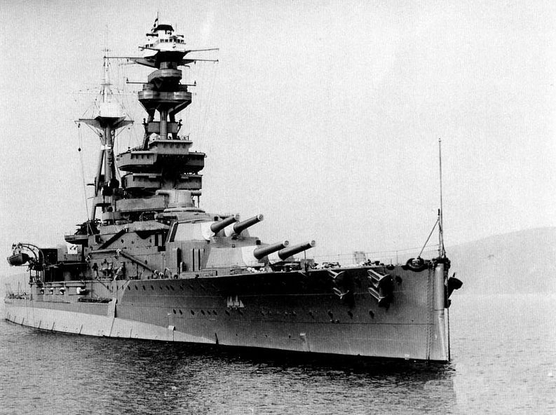 HMS Royal Oak in 1937 (Publiek Domein - wiki)