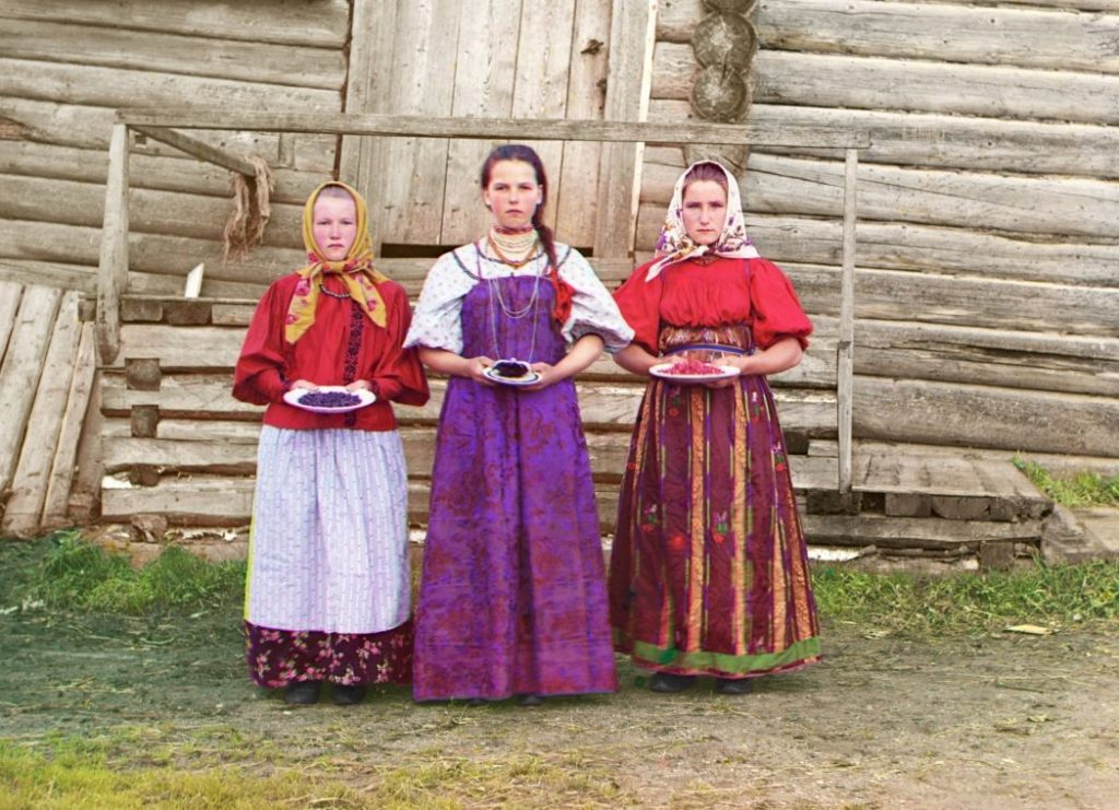 Russische boerendochters